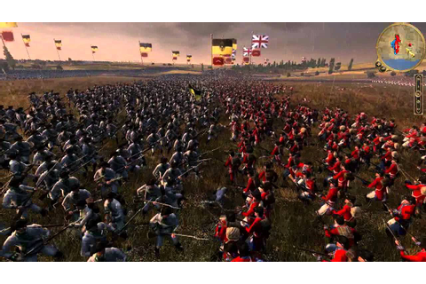 Empire Total War HUGE battle 30,000 men - YouTube