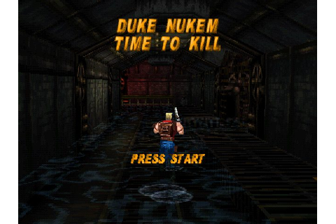 Duke Nukem: Time to Kill (1998) by n-Space PS game