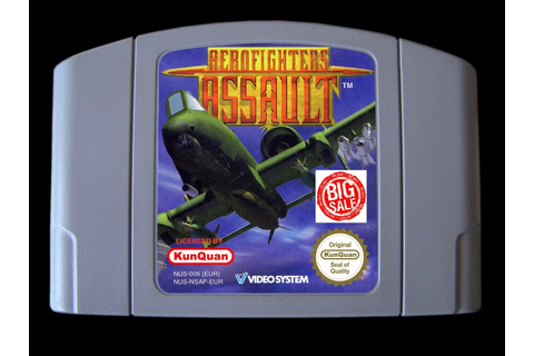 64 Bit Games ** Aerofighters Assault ( English PAL Version ...
