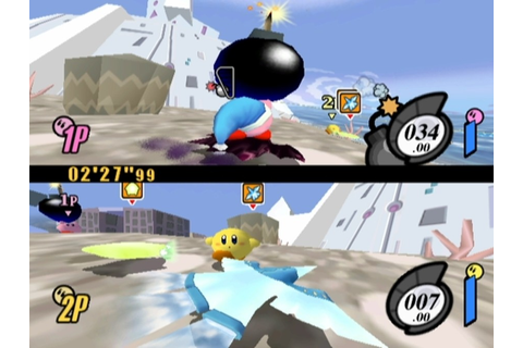 Kirby Air Ride (GCN / GameCube) Screenshots