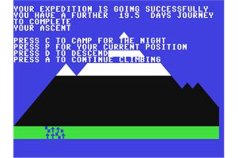 Everest Ascent - Commodore 64 - Games Database