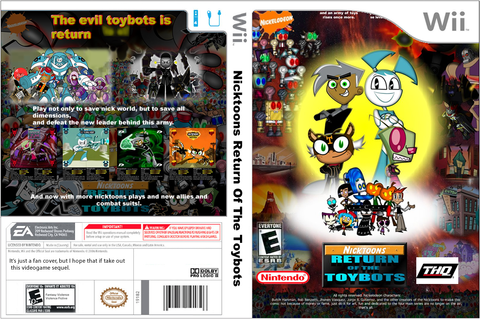 FAN Nicktoons Return of the Toybots wii by mayozilla on ...