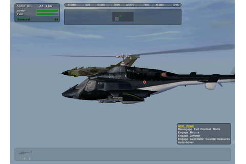 Game Cinematography: Airwolf OFP (awm) Tornado (ita)