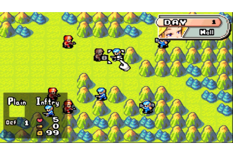 Visual Boy Advance Emulator 1.8.0 (Beta 3) | Advance Wars ...