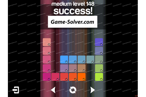 Blendoku Medium Pack Level 148 - Game Solver