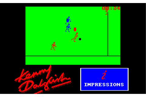 Kenny Dalglish Soccer Match (1990) by Consult Software ...