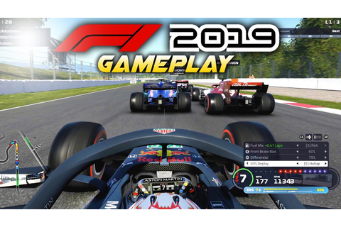 F1 2019 Exclusive Gameplay! Race with Max Verstappen at ...