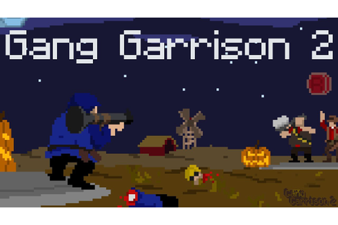 Flash Game: Gang Garrison 2 - YouTube