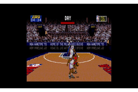 Play ESPN NBA Hangtime '95 • Sega CD GamePhD