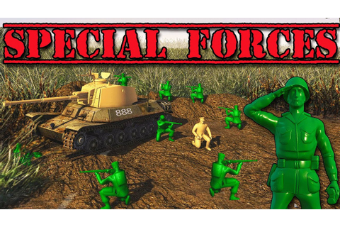 Special Forces Mission! NEW ARMY MEN Game (Army Men of War ...