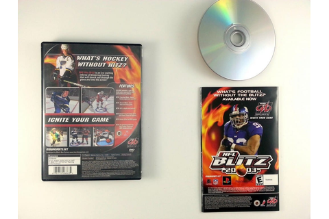 NHL Hitz 2003 game for Playstation 2 (Complete) | The Game Guy