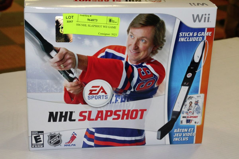 NEW 2006 NHL SLAPSHOT WII GAME