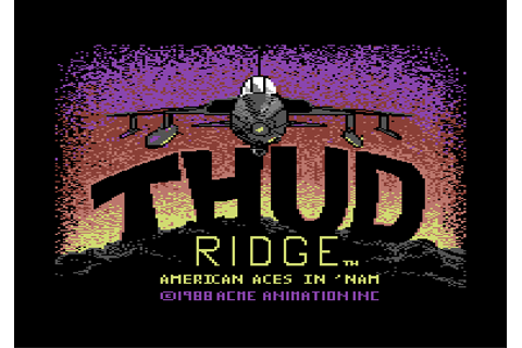 Download Thud Ridge: American Aces in 'Nam - My Abandonware