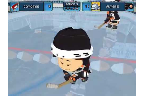Backyard Hockey 2005 Gameplay 22 (Single Game 3) - YouTube