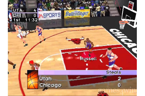 NBA Live 98 Download - Games4Win