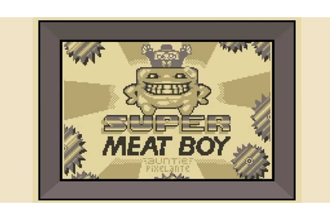 Super Meat Boy! - Game Boy estilo - YouTube