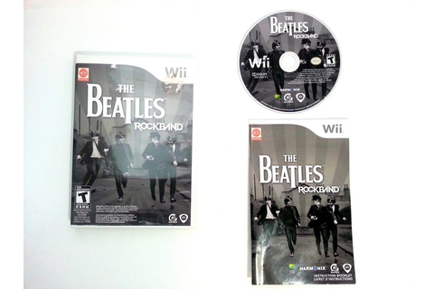 The Beatles: Rock Band game for Wii (Complete) | The Game Guy