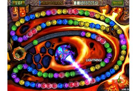 Free Download Games Zuma Deluxe 2.1 Latest Full Version for Pc
