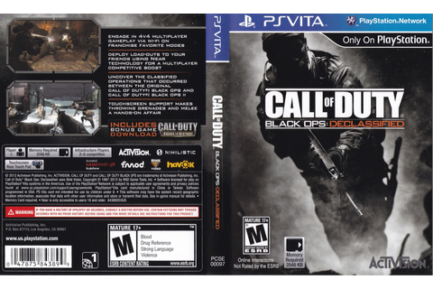 Call of Duty: Black Ops Declassified full game free pc ...