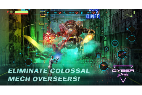Cyber Strike – a new cyberpunk-themed run & shoot mobile game