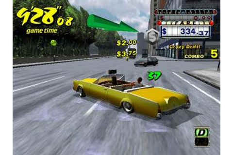 Windows Game: Crazy Taxi 2 Game for PC Free Download